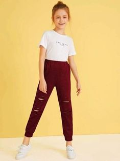 Teenage Girl Outfits, Kids Outfits Girls, Cute Girl Outfits, Girls Fashion Clothes, Tween Fashion, Basic Outfits, Cute Outfits For Kids, Teen Fashion Outfits, Cute Casual Outfits
