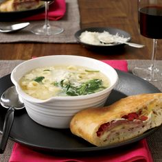 """In our house, stracciatella was a catch-all,"" Tom Valenti says about this simple, rustic soup. ""We started with good homemade stock and added whateve..."