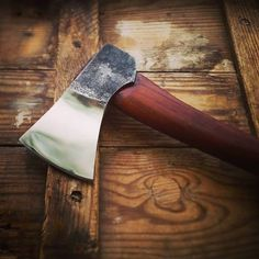 Paps custom axe. Pawel is a talented knife, axe and tomahawk maker from Poland.