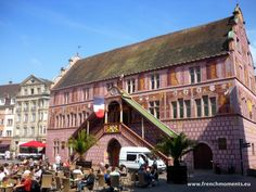 The old town-house of #Mulhouse in #Alsace. www.frenchmoments.eu/mulhouse-alsace/