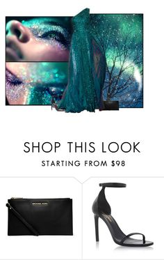"""Turquoise"" by elmtree87 ❤ liked on Polyvore featuring MICHAEL Michael Kors, Elie Saab and Yves Saint Laurent"