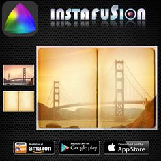 Instafusion Effection App #BridgePhotography #bridge  #sanfrancisco #city #goldengatebridge #foggy #usa #citytour #tourism  #Online #Amazing #new #foods #cam #best #socialmedia #blogging #androidapps #android #tecnologia #image #Patchwork #CollageArt #Photo #PhotoCollage ------------------------------------------ Vintage photo effect on the bridge mystifies the look!! https://www.flickr.com/photos/113172133@N07/14481593819/