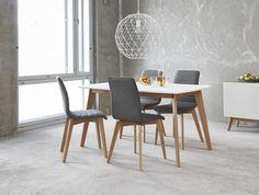 OLIVIA-ruokapöytä ja AVENUE-tuolit. #sisustusidea #sisustaminen #sisustusinspiraatio #askohuonekalut #sisustusidea #sisustusideat