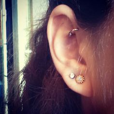 Front helix piercing #earrings