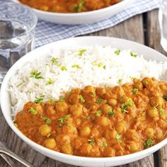 (Vegan) Easy Chickpea Tikka Masala Recipe | Yummly