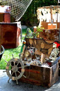 Tema do partido decoração piratas
