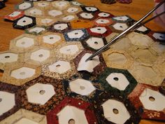 Finishing Tips Now that you've been busy making hexagons, no doubt you have a wonderful assortment and want to begin sewing them together. ...