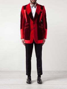 ALEXANDER MCQUEEN - button down jacket --- Alexander McQueen is welcome to penetrate my wardrobe anytime. FLAWless.