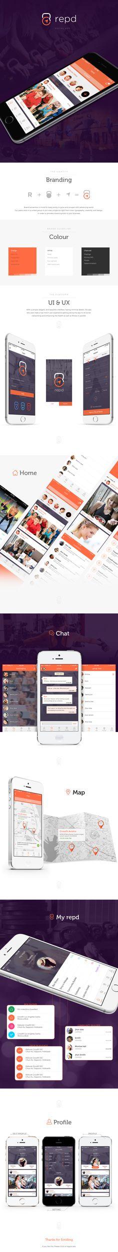 Fitness Social App on Behance