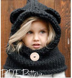 Knitting PATTERN-The Burton Bear Cowl