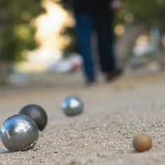 If you want to go live in France (especially in Provence) learning how to play la petanque is a must :)