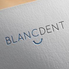 Logo for startup Blancdent, a startup in teeth whitening gel // bright smile // #blancdent #dental #startup #branding #visuals #logo #brands #logodesign #graphicdesign #illustrator #illustration #graphic #digitalart #create #branding #creative #art #dutch #inspiration #designer #artdirection #flatdesign #flat