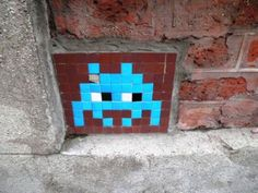 Space Invader Rue Lesseps (75020)