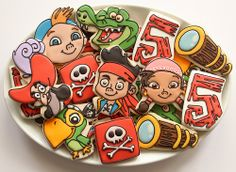 Jake and The Neverland Pirate Cookies | Flickr - Photo Sharing!