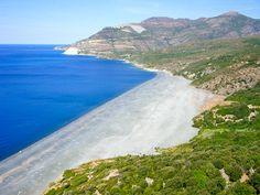 Plage de Nonza, Corse