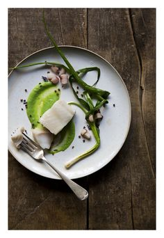 Lavender-Infused Poached Cod | From XX Dinners by Ithai Schori | Poaching in olive oil is a nearly foolproof way to get fish that's always tender, never dry