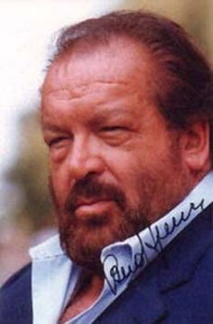 Bud Spencer (born Carlo Pedersoli; 31 October 1929) is an Italian actor, filmmaker and former swimmer (he was the first Italian to swim 100m in less than a minute)