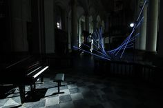 Portée/, l'installation qui transforme les cathédrales en piano | The Creators Project