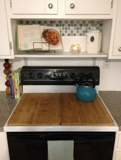 Awesome Stove Board Ideas For Camper Kitchen