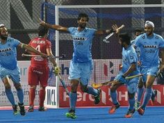 Hockey Champions Trophy: India defeat Belgium to face Pakistan in semis Champions Trophy, India And Pakistan, Field Hockey, Belgium, Face, Sports, Meet, House, Ideas