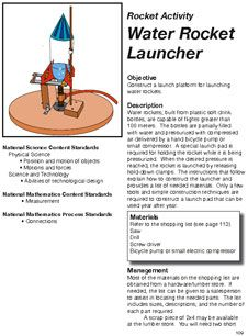 Bottle Rocket Launcher Directions from NASA