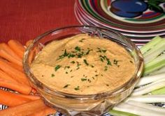 Roasted Red Pepper Hummas & More Weight Watchers Dip Recipes