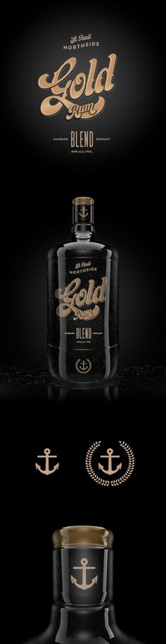 St.Pauli Rum by Malte Schweers, via Behance
