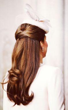 Kate Middleton's Hair. London. Royal Family. Duchess of Cambridge.