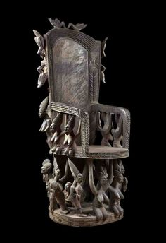 Olówè of Isè, Royal Throne, African Art