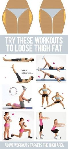 10 Simple Excercises To Reduce Thigh Fat