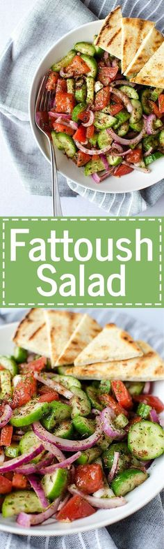 Fattoush Salad - A s