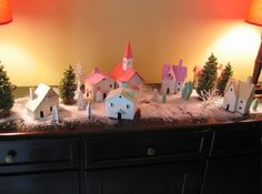 Christmas village ideas