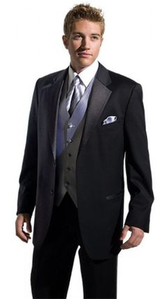 Joseph Abboud Super 120 two Button Notch Tuxedo  - available for rental or purchase at www.sacino.com