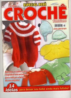bebetunisiano - claudia Rabello - Álbuns da web do Picasa Crochet Skirts, Crochet Bebe, Crochet For Kids, Knitting Magazine, Crochet Magazine, Tunisian Crochet, Crochet Stitches, Baby Patterns, Crochet Patterns