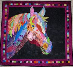 Feeling Simply Quilty: horse quilt