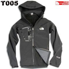 North Face Men Black Gore Tex Soft Shell Jackets