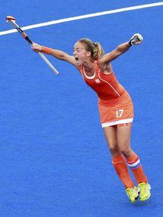 Paumen Maartje foi o grande destaque da Holanda na partida Foto: Reuters