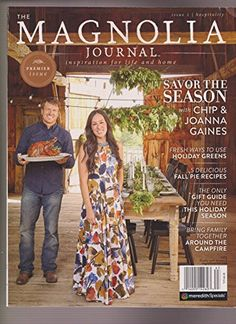We got our hands on Magnolia Journal, the new lifestyle magazine from 'Fixer Upper' couple Joanna and Chip Gaines. Chip Und Joanna Gaines, Magnolia Joanna Gaines, Joanna Gaines Style, Chip Gaines, Gaines Fixer Upper, Fixer Upper Joanna, Magnolia Fixer Upper, Magnolia Farms, Magnolia Homes