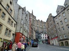 Edinburgh - Old Town, 2010 August