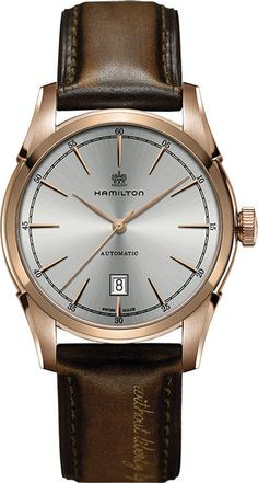 Hamilton Watch American Classic Timeless Classic Spirit of Liberty #bezel-fixed #case-depth-11-6mm #case-material-rose-gold #case-width-42mm #date-yes #delivery-timescale-call-us #dial-colour-silver #gender-mens #luxury #movement-automatic #official-stockist-for-hamilton-watches #packaging-hamilton-watch-packaging #style-dress #subcat-american-classic-timeless-classic #supplier-model-no-h42445551 #warranty-hamilton-official-2-year-guarantee #water-resistant-50m