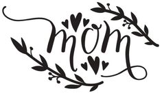 This DIY Mother's Day Etched Vase with a free SVG file with have you cutting and etching your very own Mother's Day vase in no time at all. Happy Mother Day Quotes, Happy Mothers Day, Silhouette Cameo Projects, Silhouette Design, Wax Paper Transfers, Free Stencils, Free Mom, Mother's Day Diy, Stencil Patterns
