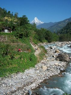 near Pokhara, Nepal Nepal Travel Destinations Backpacking South America, Backpacking Europe, Nepal Culture, India Travel, Travel Nepal, Nepal Trekking, India Tour, Where To Go, Beautiful Landscapes