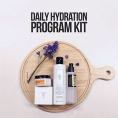 Is your skin really dry? If so, I recommend you try this [SOL-KIT] DAILY HYDRATION PROGRAM KIT. This kit contains [CHICA Y CHICO] SKIN TEXTURE TONER, [COSRX] ADVANCED SNAIL 96 MUCIN POWER ESSENCE and [COSRX] ULTIMATE MOISTURIZING HONEY OVERNIGHT MASK. These skin care products are a perfect combination for skin moisturizing and it is also a great solution-kit for transforming your dry skin into moist and smooth skin :)