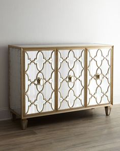 "John-Richard Collection ""Arabesque"" Mirrored Console - Horchow"