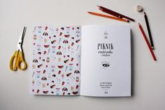 Design and Paper | Piknik – Illustrated Colouring Book by Simona Čechová | http://www.designandpaper.com