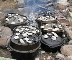 As I always tell people you really don't need dutch oven recipes because any recipe you cook in one becomes a dutch oven recipe.  One of the problems one runs into when using a dutch oven for recipes out of modern cook books or even older ones, is trying to figure out what oven