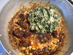 Legume 2 Haitian Food Legume, Haitian Food Recipes, Legumes Recipe, Eggplant Seeds, Sour Orange, Potato Mashers, Seasoned Salt, How To Cook Shrimp, Yummy Yummy
