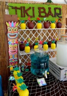 Teen Beach Movie Birthday Party teen-beach-movie-birthday-party-drinks-the-bar Birthday Party Drinks, Backyard Birthday Parties, Birthday Party For Teens, Teen Birthday, Birthday Ideas, Luau Birthday, Birthday Games, Husband Birthday, Teen Pool Parties