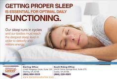 To learn more about the importance of sleep, call us today on (866) 808-3320 in Sterling, (866) 228-5091 in South Riding. #SkinCare #DermatologistinCentrevilleVA