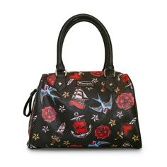 Loungefly Heart/Dagger, Sparrow, Roses Duffle - Loungefly - Brands